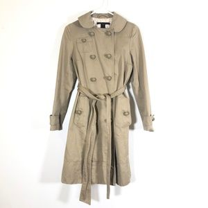 Marc Jacobs XS Trench Coat With Belt Tan